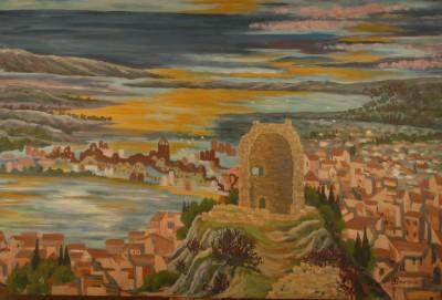 Gruissan vue de la tour J Bourzeix